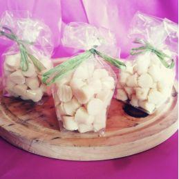Bouchons apéritifs de chèvre au lait cru