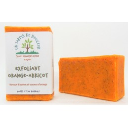 Savon exfoliant orange-abricot 100 g