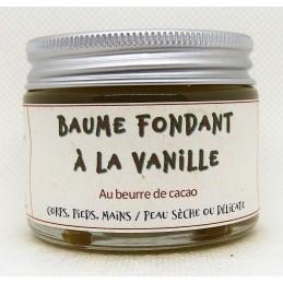 Baume fondant à la vanille 50 mL
