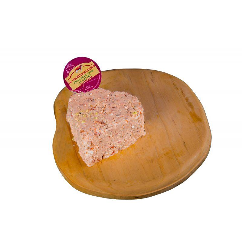 Coeur des couleurs – fromage tomates séchées et basilic